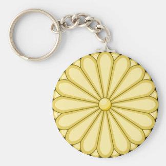 sello de Japón Llavero Redondo Tipo Pin