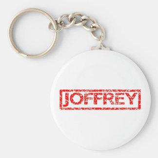Sello de Joffrey Llavero Redondo Tipo Pin