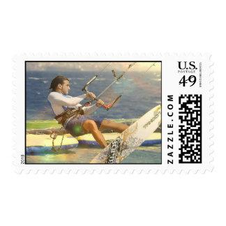 Sello de Kitesurfing