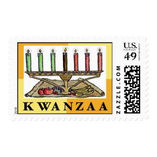 Sello de Kwanzaa
