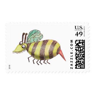 Sello de la abeja de Katie