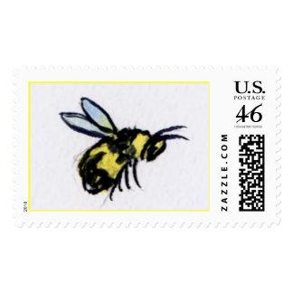 Sello de la abeja de la miel