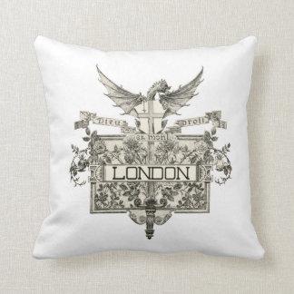Sello de la almohada de Londres Cojín Decorativo