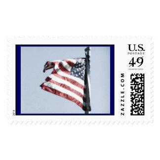 Sello de la bandera americana