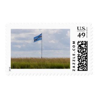 Sello de la bandera de Botswana