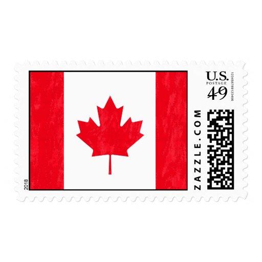 Sello de la BANDERA de CANADÁ