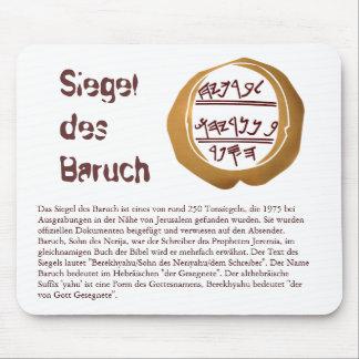 Sello de la Baruch Alfombrilla De Raton