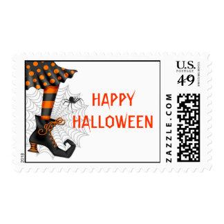 Sello de la bruja de Halloween