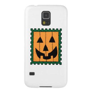 Sello de la calabaza de Halloween Carcasa De Galaxy S5