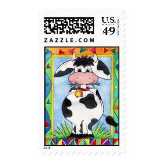 Sello de la campana de la vaca