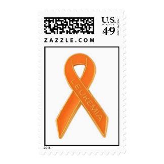 Sello de la cinta de la leucemia