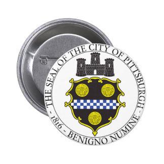 Sello de la ciudad de Pittsburgh Pins