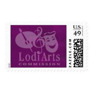 Sello de la Comisión de los artes de Lodi