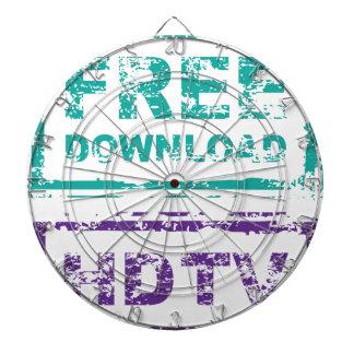 Sello de la descarga gratuita del Grunge y sello