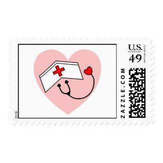 sello de la enfermera