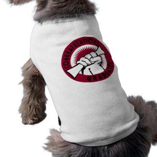 Sello de la enhorabuena ropa de perros