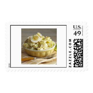 Sello de la ensalada de Potatoe