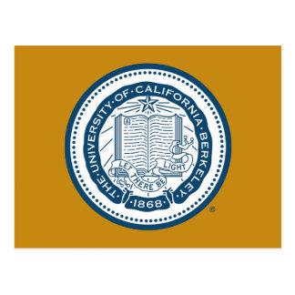 Sello de la escuela de Uc Berkeley - azul Postal