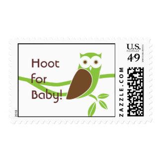 Sello de la fiesta de bienvenida al bebé del Owlet