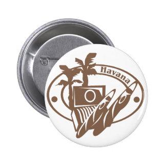 Sello de La Habana Pin