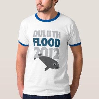 Sello de la inundación 2012 de Duluth Playera