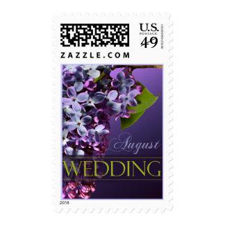 Sello de la invitación del boda y del acontecimien