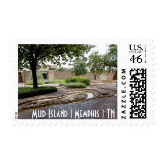 Sello de la isla el Memphis el TN el del fan