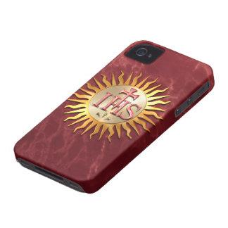 Sello de la jesuita iPhone 4 Case-Mate carcasa