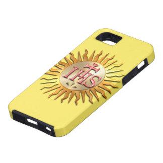 Sello de la jesuita iPhone 5 protectores