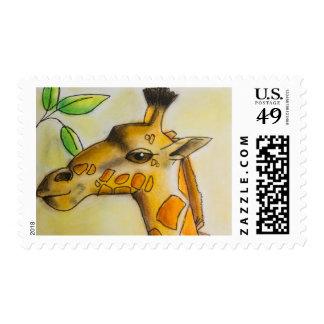 Sello de la jirafa de Dina