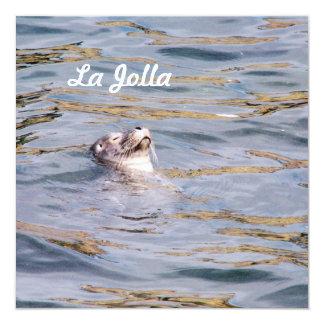 Sello de La Jolla Invitaciones Personalizada