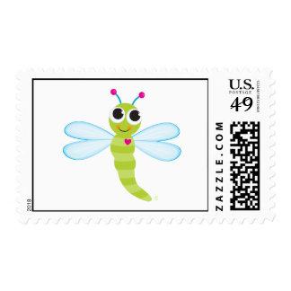 Sello de la libélula