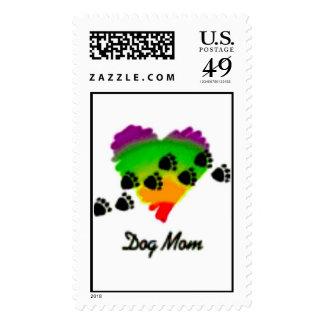 sello de la mamá del perro