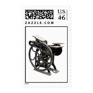 sello de la máquina de la prensa de copiar