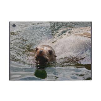 Sello de la natación iPad mini cárcasas