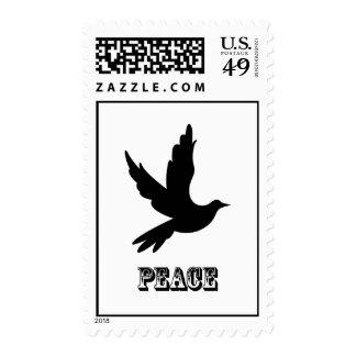 Sello de la paloma de la paz