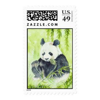Sello de la panda gigante