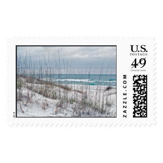 sello de la playa