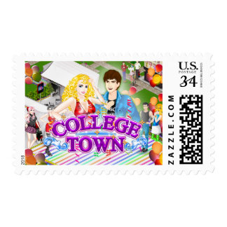 Sello de la postal de la ciudad universitaria