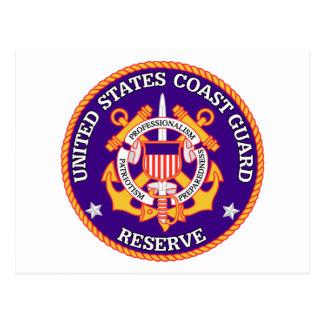 Sello de la reserva de USCG Tarjeta Postal