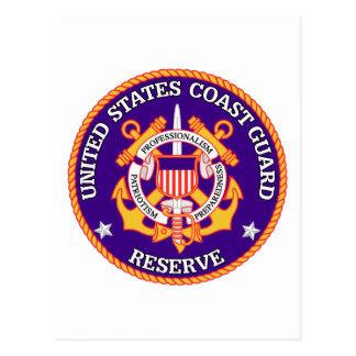 Sello de la reserva de USCG Tarjetas Postales