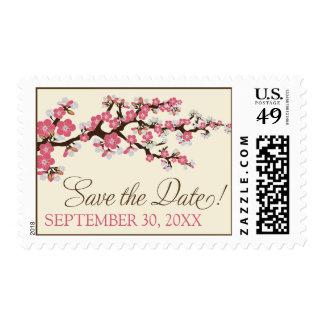 Sello de la Reserva--Fecha de las flores de cerezo