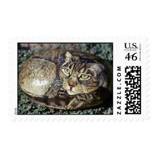 """Sello de la roca del gato de """"Cappuchino"""""""