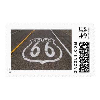 Sello de la ruta 66