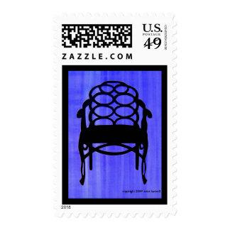 Sello de la silueta de la silla de Elkins -