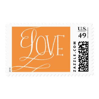 Sello de la tarjeta del día de San Valentín