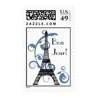 Sello de la torre Eiffel