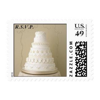 Sello de la torta R S V P
