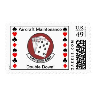 Sello de la unidad del mantenimiento de aviones de