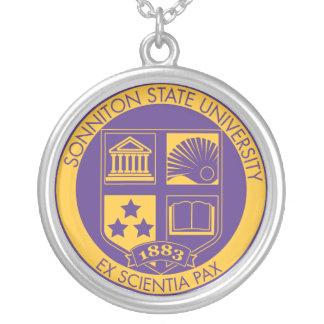 Sello de la universidad de estado de Sonniton - Colgante Redondo